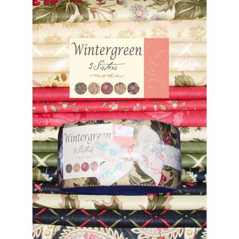 Wintergreen by 3 Sisters Jelly Roll