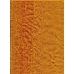 Dupion Silk Burnt Orange