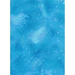 Fossil Fern Blue Topaz