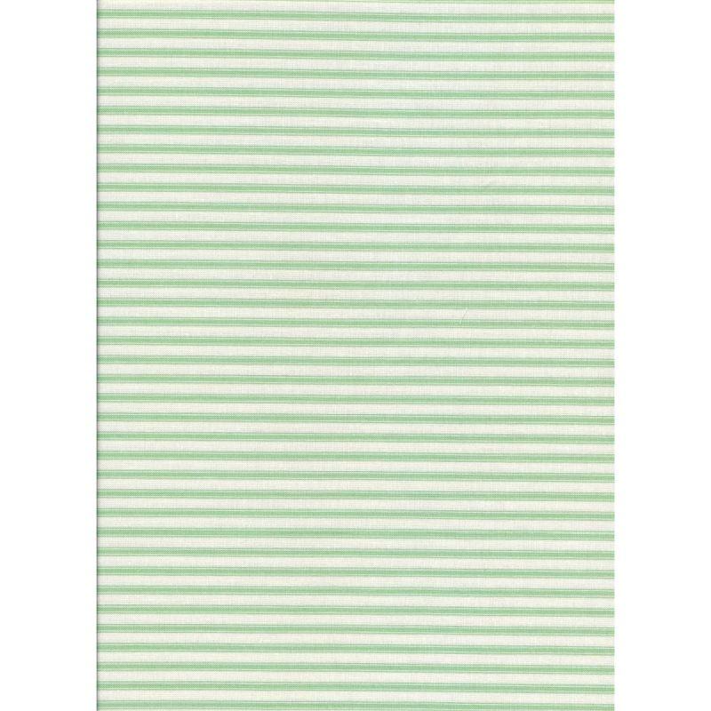 Ticking Stripe Mint Green
