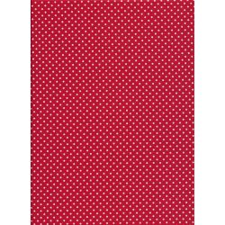 Spot White on Red