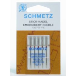 Embroidery 75/11 Needles 5...