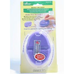 Clover Magnet Pin Caddy Purple