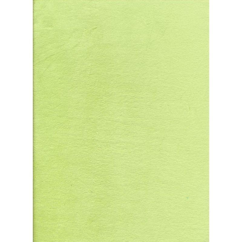 Plain Lime Minkie 145cms wide