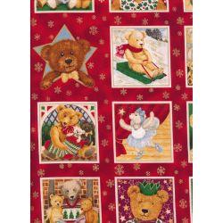 Christmas Bears Squares