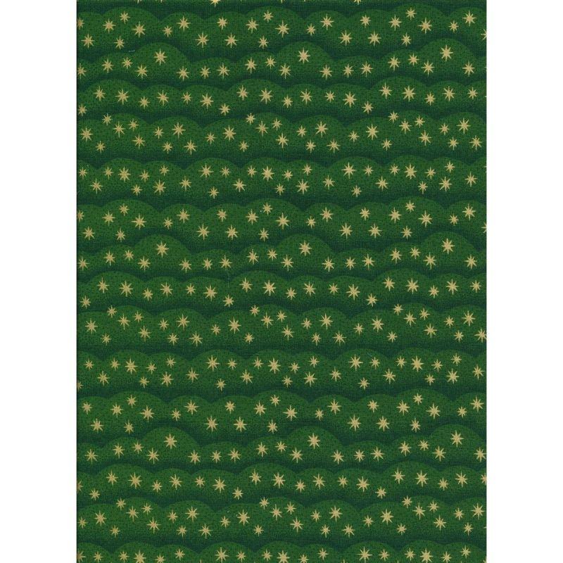 Noel Clouds Green 2 Mtr Pack