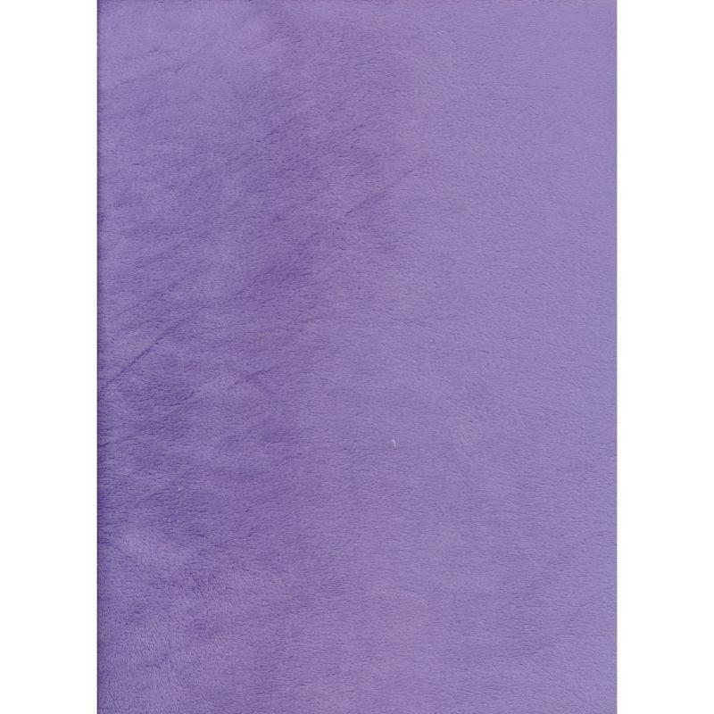 Plain Lavendar Minkie 145cms wide