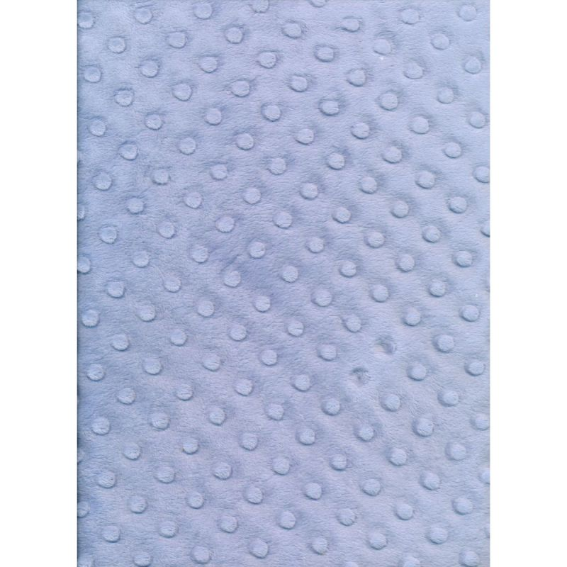 Bubble Blue Minkie 145cms wide