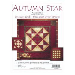Autumn Star Wall Quilt Kit
