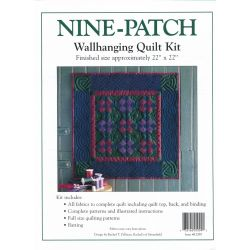Nine Patch Wall Quilt Kit