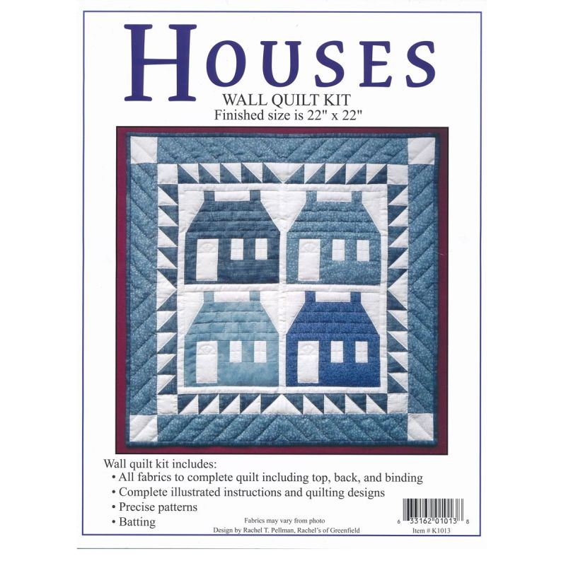 Houses Wall Quilt Kit