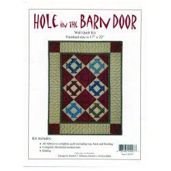Hole in the Barn Door Wall...