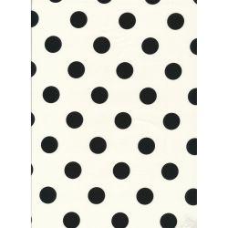 Sevenberry Large Dots Black...