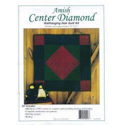 Center Diamond Wall Quilt Kit
