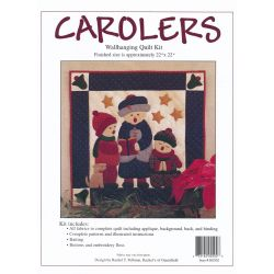 Carolers Wall Quilt Kit