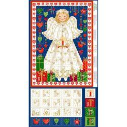 Christmas Advent Angel Panel