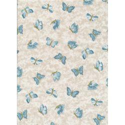 Arbor Rose Blue Butterflies