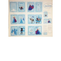 Disney Frozen Softbook panel