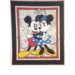 Disney Mickey and Minnie Panel