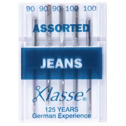 Jeans 90/14 and 100/16...