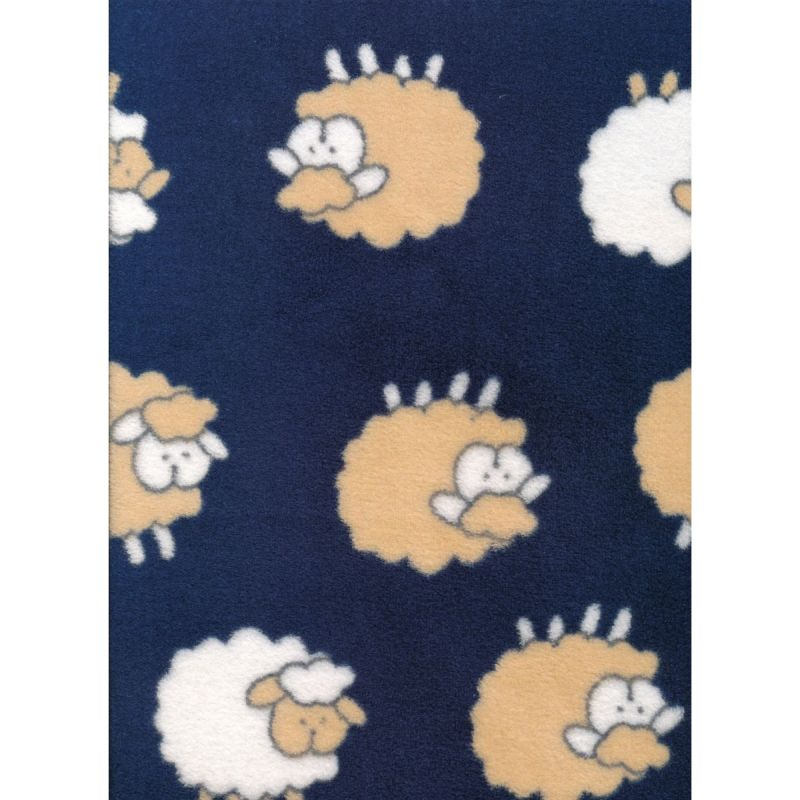 Velour Sheep Double Sided 100% Polyester 60in/152cms wide approx