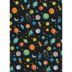 Space Planets Black by...