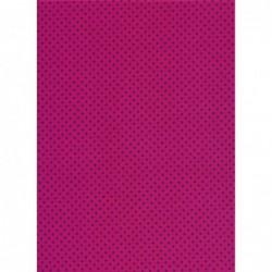 Purple Spot on Pink