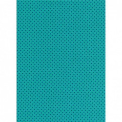 Blue Spot on Turquoise
