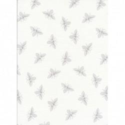 Bees White Wisp by Renee...